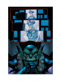 Avengers: The Initiative Annual 1 Headshot: Marvel Universe Print by Patrick Scherberger