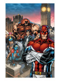 New Excalibur 1 Cover: Captain Britain, Juggernaut, Dazzler, Nocturne and New Excalibur Posters by Michael Ryan