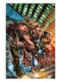 Weapon X: First Class 1 Cover: Sabretooth and Wolverine Print by Michael Ryan