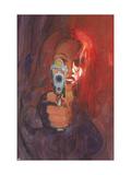 Black Widow 2 No.2 Cover: Black Widow Poster von Sienkiewicz Bill
