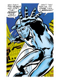 Marvel Comics Retro: Silver Surfer Comic Panel Poster
