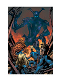 Fantastic Four No.530 Cover: Mr. Fantastic, Invisible Woman, Human Torch, Thing and Fantastic Four Poster by Mike McKone
