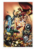 Omega Flight No.4 Cover: Arachne Posters by Scott Kolins