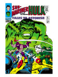 Tales to Astonish 81 Cover: Hulk and Boomerang Posters by Dick Ayers