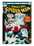 Marvel Comics Retro: The Amazing Spider-Man Comic Book Cover No.151, Flooding Affiches