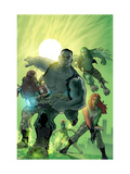 World War Hulk: Gamma Corps 1 Cover: Griffin, Prodigy, Mess, Mr. Gideon and Grey Prints by Stephane Roux