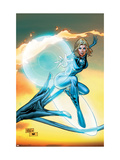 Ultimate Fantastic Four 55 Cover: Invisible Woman Poster by Tan Billy