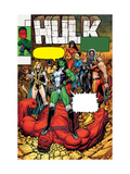 Hulk #9 Cover: She-Hulk, Rulk, Valkyrie, Thundra and Black Widow Pôsters por Arthur Adams