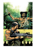 Wolverine Punisher 5 Cover: Wolverine and Punisher Posters by Lee Weeks