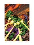 Marvel Adventures Hulk 16 Cover: Hulk Poster by Tom Grummett