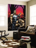 Wolverine Punisher No.2 Cover: Wolverine and Punisher Wall Mural by Frank Gary