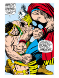 Marvel Comics Retro: Mighty Thor Comic Panel, Hercules Prints