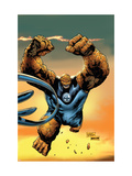 Ultimate Fantastic Four No.57 Cover: Thing Poster von Tan Billy
