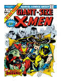 Marvel Comics Retro: The X-Men Comic Book Cover 1 Affiches