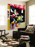 Classic X-Men No.23: Wolverine, Nightcrawler and Colossus Wall Mural by Chiarello Mark