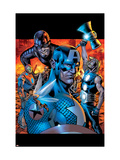 Ultimates 13 Cover: Wasp, Captain America, Thor, Giant Man, Iron Man and Ultimates Art by Bryan Hitch