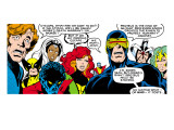 Marvel Comics Retro: X-Men Comic Panel Posters