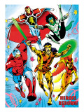 The Official Handbook Of The Marvel Universe Teams 2005 Cover: Albion Photo by Alan Davis