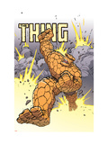 Thing: Freakshow No.4 Cover: Thing Prints by Scott Kolins