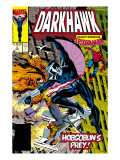 War Of Kings: Darkhawk #2 Cover: Darkhawk, Hobgoblin and Spider-Man Pósters por Mike Manley