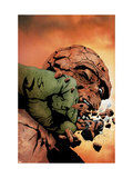 Hulk & Thing: Hard Knocks 3 Cover: Hulk and Thing Prints by Jae Lee
