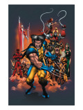 The Official Handbook Of The Marvel Universe: Wolverine 2004 Cover: Wolverine Art by Salvador Larroca