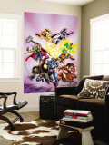 Avengers No.16: Captain America Wall Mural by Jerry Ordway