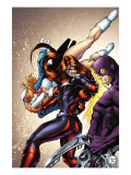 Amazing Spider-Man Presents: Jackpot No.2 Cover: Jackpot and Boomerang Prints by Melo Adriana