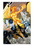 Secret Invasion: X-Men 4 Cover: Wolverine and Phoenix Posters by Terry Dodson