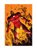 Marvel Adventures Iron Man 2 Cover: Iron Man Prints