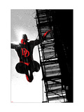 Daredevil Noir 1 Cover: Daredevil Prints by Coker Tom