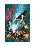 Ultimate Comics Armor War No.3 Cover: Iron Man Print by Brandon Peterson