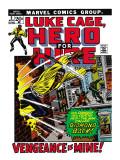 Marvel Comics Retro: Luke Cage, Hero for Hire Comic Book Cover No.2, Smashing Wall Posters