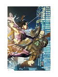 Dark Reign: Young Avengers 2 Cover: Hawkeye and Executioner Prints by Mark Brooks