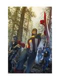 Captain America No.602 Cover: Captain America Prints by Parel Gerald