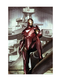 Iron Man: Director Of S.H.I.E.L.D. #32 Cover: Iron Man Posters af Adi Granov