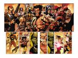 Secret Invasion 8 Group: Wolverine Art by Yu Leinil Francis