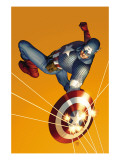 The Marvels Project #6 Cover: Captain America Psters por Steve Epting