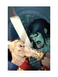 Incredible Hulk #605 Cover: Skaar and Tyrannus Posters af Ariel Olivetti