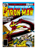 Marvel Comics Retro: The Invincible Iron Man Comic Book Cover No.121; Fighting Namor Art
