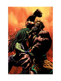 She-Hulk No.30 Cover: She-Hulk and Hercules Print by Mike Deodato