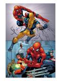 Marvel Knights Spider-Man No.13 Group: Spider-Man Poster von Tan Billy