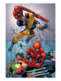 Marvel Knights Spider-Man 13 Group: Spider-Man Prints by Tan Billy