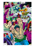 New Mutants No.100 Group: Warpath, Domino, Shatterstar, Cable, Boom Boom and New Mutants Prints by Liefeld Rob