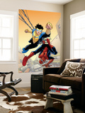 Marvel Team-Up No.14 Cover: Spider-Man and Invincible Wall Mural by Cory Walker