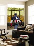 Captain America V4, No.22 Cover: Captain America Wall Mural by Dave Johnson