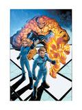 Marvel Age Fantastic Four No.5 Cover: Mr. Fantastic Posters by Makoto Nakatsuka