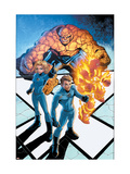 Marvel Age Fantastic Four No.5 Cover: Mr. Fantastic Pósters por Makoto Nakatsuki