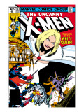 Uncanny X-Men No.131 Cover: White Queen, Colossus and Nightcrawler Art by John Byrne