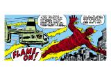 Marvel Comics Retro: Fantastic Four Comic Panel, Human Torch Prints